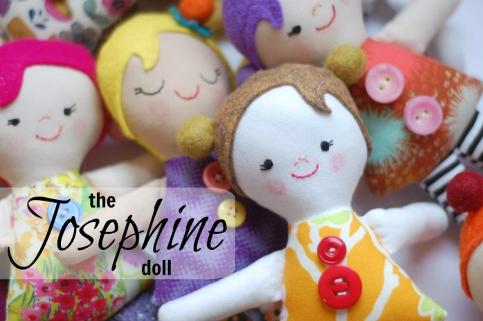 Josephine Doll Pattern by While She Naps - Sewtorial