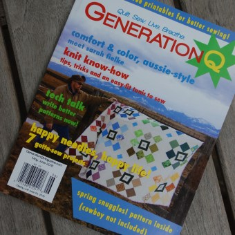 An Article About Penny Gold's Quilt In Generation Q