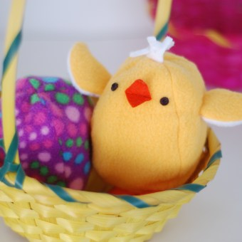 Chick and Egg Toy for Easter
