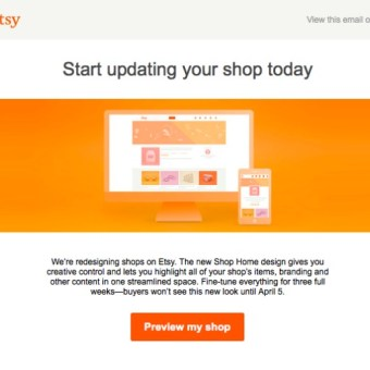 Etsy Unveils New Shop Look