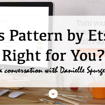 A Discussion of Pattern by Etsy with Danielle Spurge