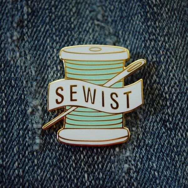 Enamel Pin for Sewing