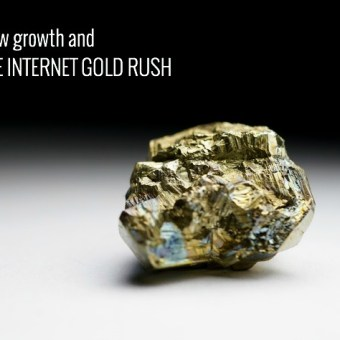 Slow Growth and the Internet Gold Rush