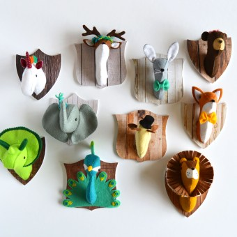 Felt Menagerie Kit Now in Stores