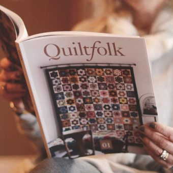 From Professional Baseball to Publishing a Quilting Magazine: The Unlikely Story of Quiltfolk