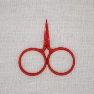 Red Putford Sewing Scissors