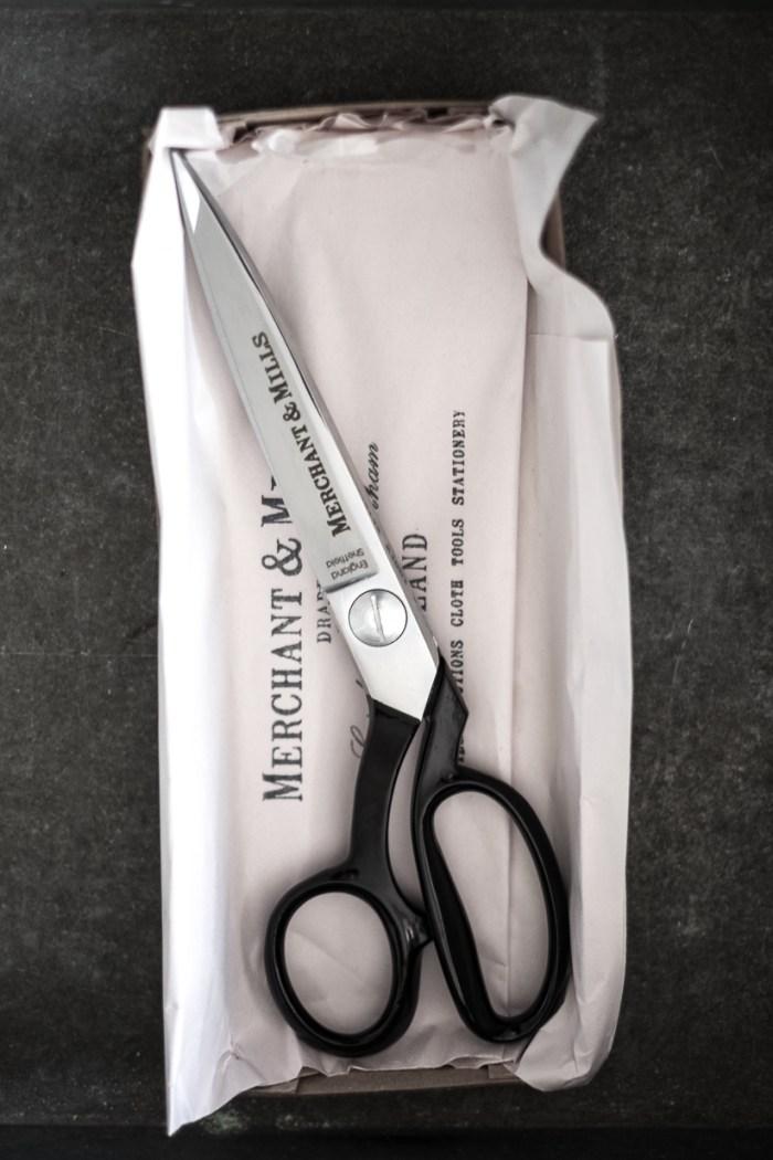 "Merchant and Mill 10"" scissors"