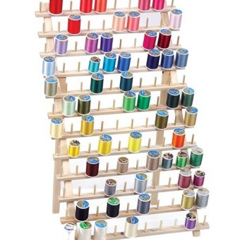 The Thread Rack Brings Organization to the Sewing Room, All Thanks to June Tailor