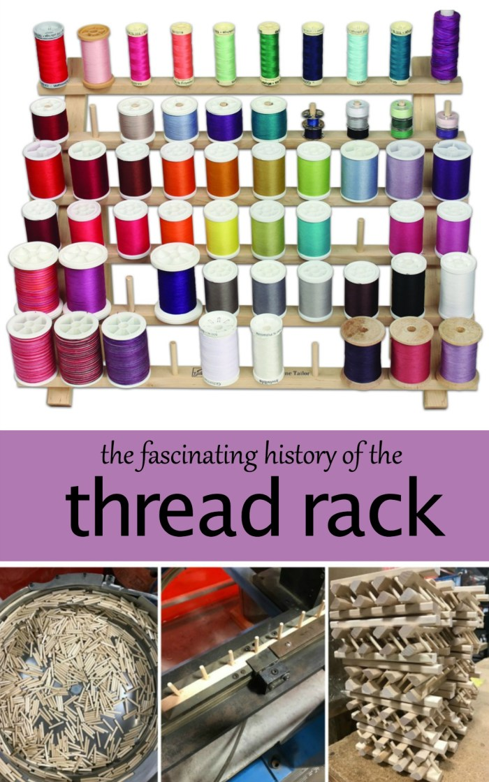 history of the thread rack
