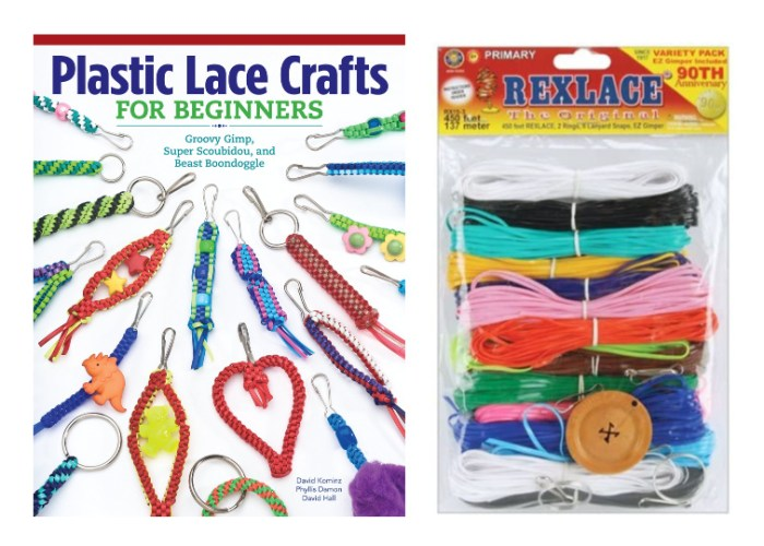 plastic lace craft