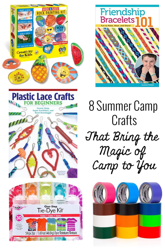 8 Summer Camp Crafts