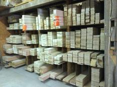 Dimensioned lumber: poplar and oak