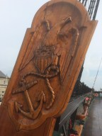One of many carvings