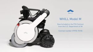 WHILL Awarded VA FSS Contract for Model M Personal EV, Next Generation Wheelchair