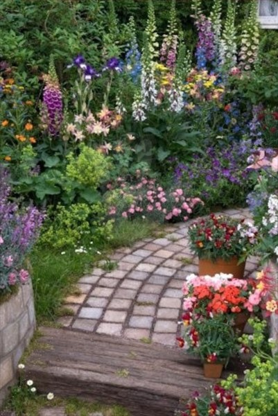 beautiful flower gardens pinterest http://pinterest.com/pin/186055028325657102/
