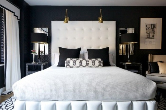17 Black Gold Bedroom Design Decorating Color Theme Ideas Hort Decor And