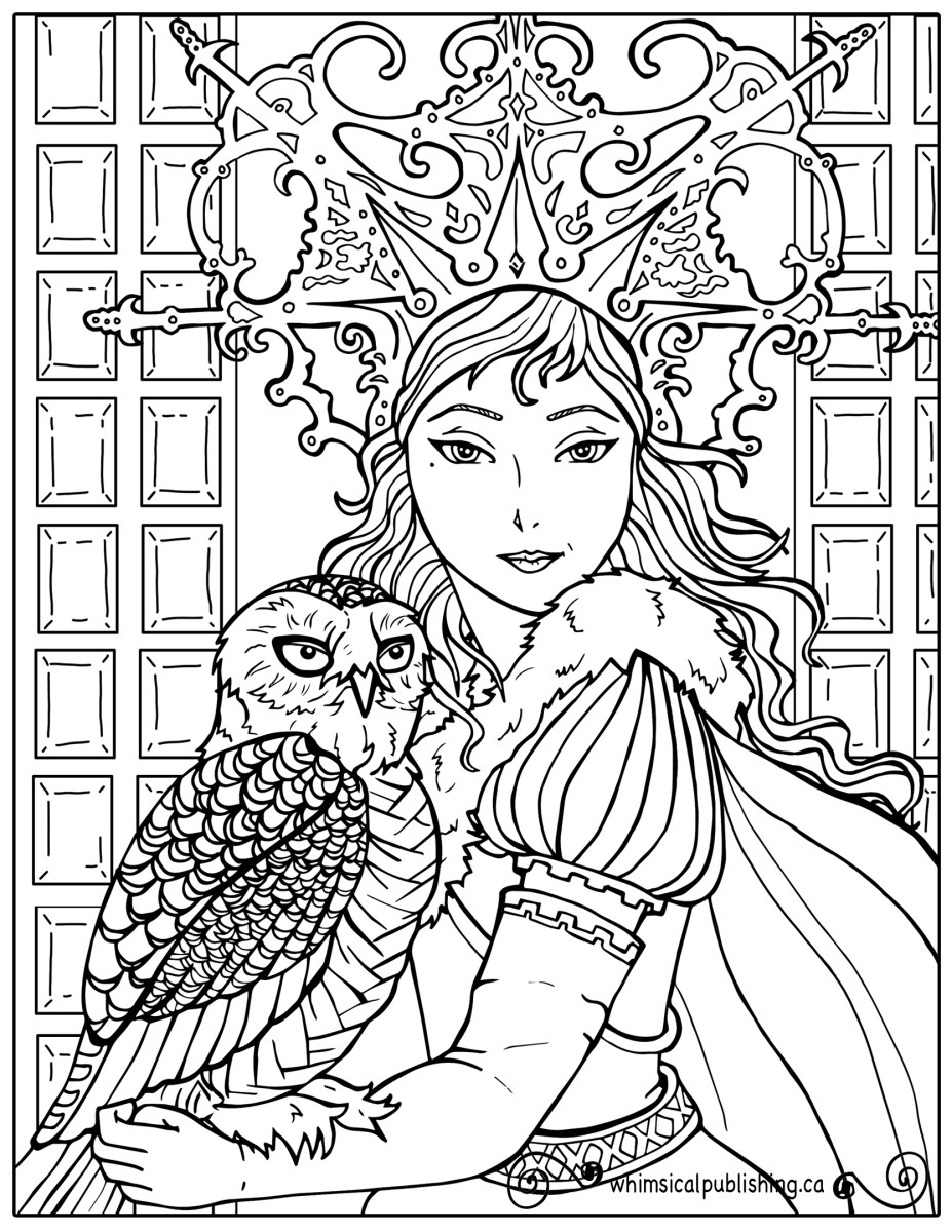 Difficult Coloring Pages Narnia