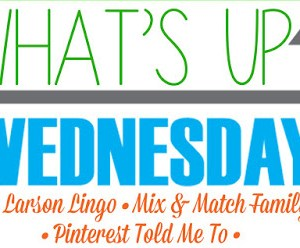 What's Up Wednesday Link Up