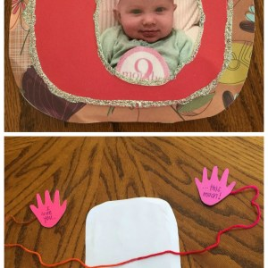 Homemade Valentine's Day Cards from Hadley