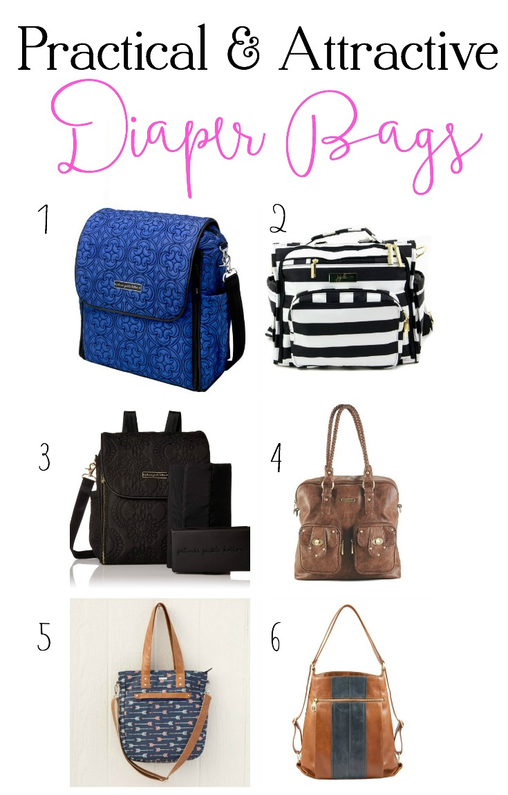 Practical and Attractice Diaper Bag Options