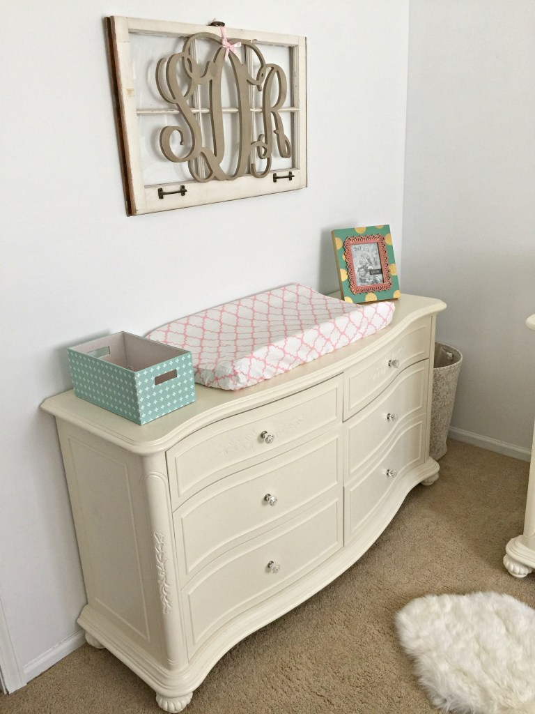 Monogram and Changing Table