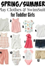 Dressing for Spring/Summer: Staples for Men & Toddler Girls