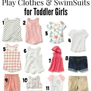 Dressing for Spring/Summer: Staples for Men & Toddler Girls