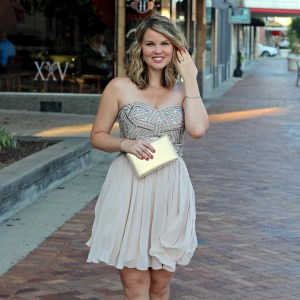 David's Bridal Military Discount & Our First Post-Baby Date Night