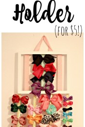 DIY Hair Bow Holder for $5