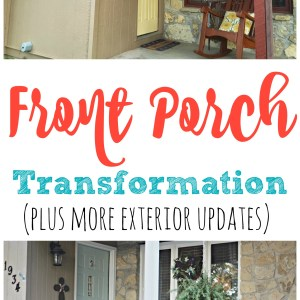 Painting the Exterior of our Home – Before & After
