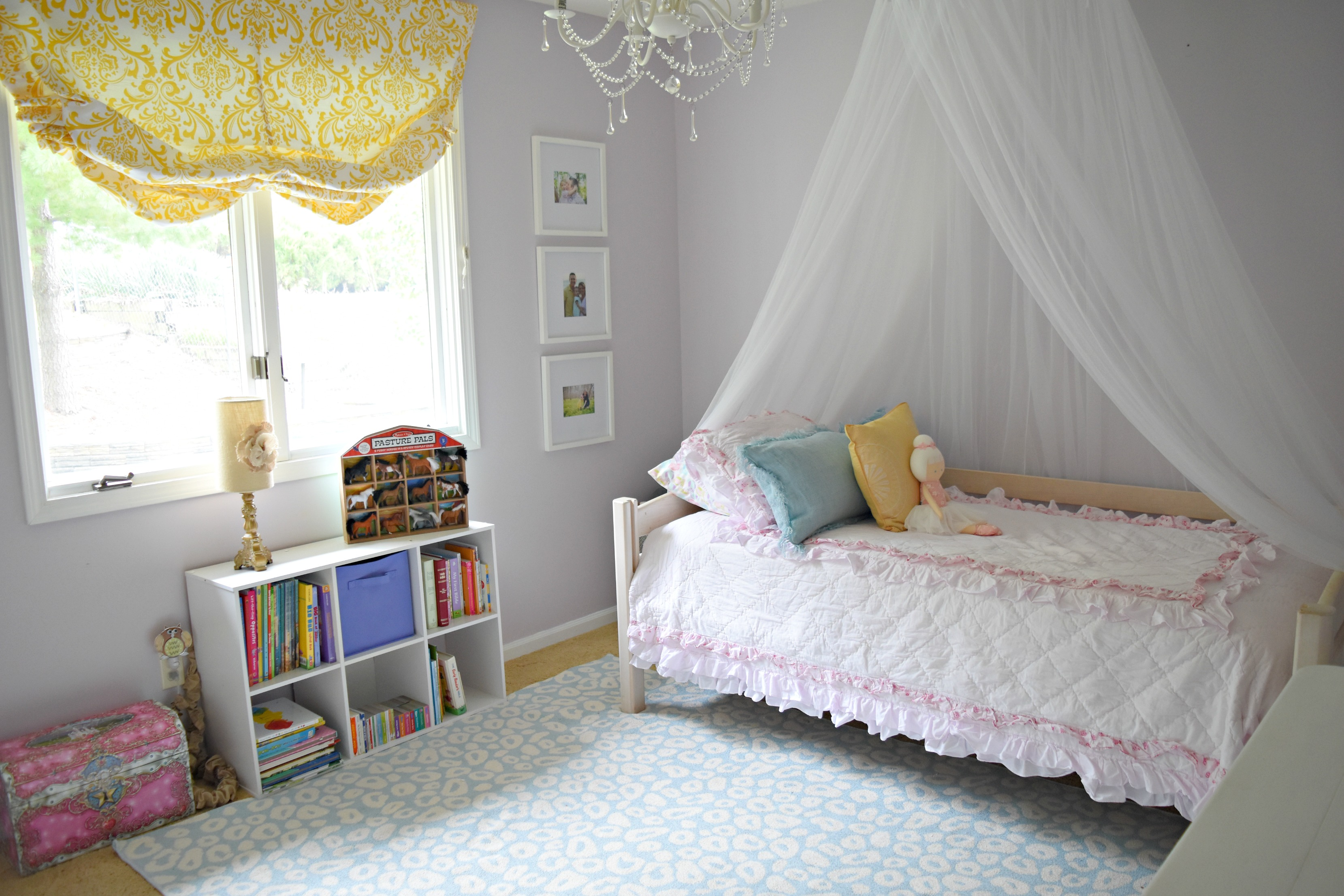 Bedroom for a 3 Year Old Girl: Hadley\'s Completed Big Girl Room
