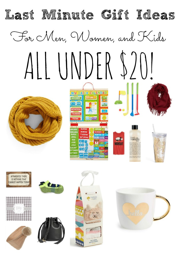 Last Minute Gift Ideas Under $20 For Men, Women, and Kids - Last Minute Gift Ideas Under $20 For Men, Women, And Kids
