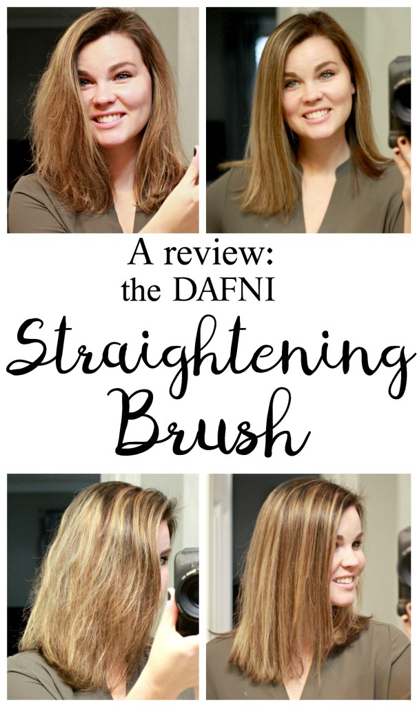 DAFNI Hair Straightening Brush:I wouldn't hesitate to recommend this brush to those interested in a new straightening hot tool that would save them time. While I wouldn't use this in place of my regular straightener 100% of this time, I will probably use it in place of regular straightener 90% of the time.