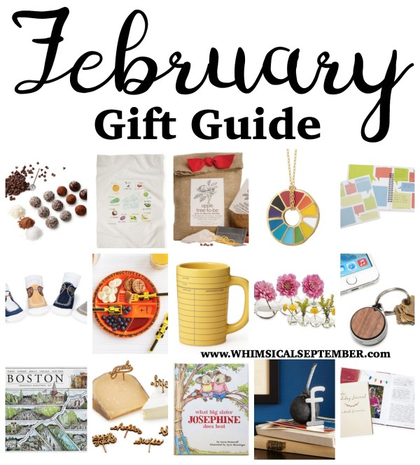 "Whether you're looking for a birthday gift, anniversary gift, or maybe just a ""pick me up"" for a loved one, you'll surely find something you'd love to give (and to get!) in this month's gift guide."
