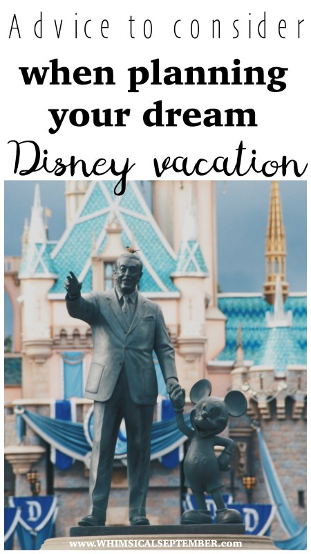 After a vacation to Disney World better than I could have ever dreamed, here's my #1 piece of advice before you start your planning!