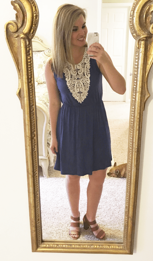 Whimsical September Stitch Fix Review April 2017: Colette Knit Dress