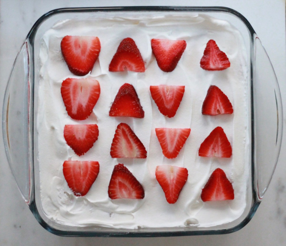 Three-Ingredient Strawberry Shortcake