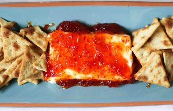 A 30-Second Appetizer: Cream Cheese & Red Pepper Jelly Dip