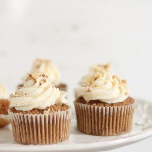 Indulgent Carrot Cake Cupcakes with Homemade Buttercream Icing