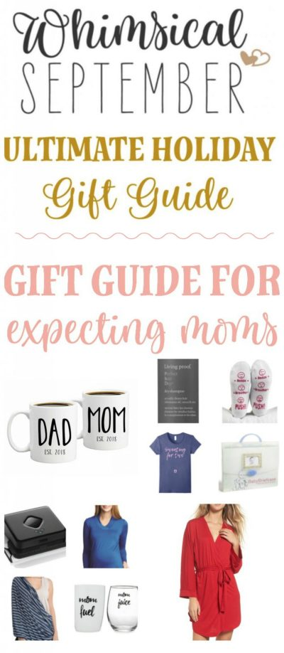 Gift ideas for expecting moms: From nursing apparel to hospital needs to little treats that expecting or new moms totally deserve, this gift guide has it all! Spoil her as she gets ready to embark on a new adventure as a first-time mom or a mom to an additional sweet baby boy or girl.