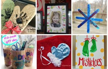 Gift Guide for Grandparents: 6 Homemade Gifts from Kids