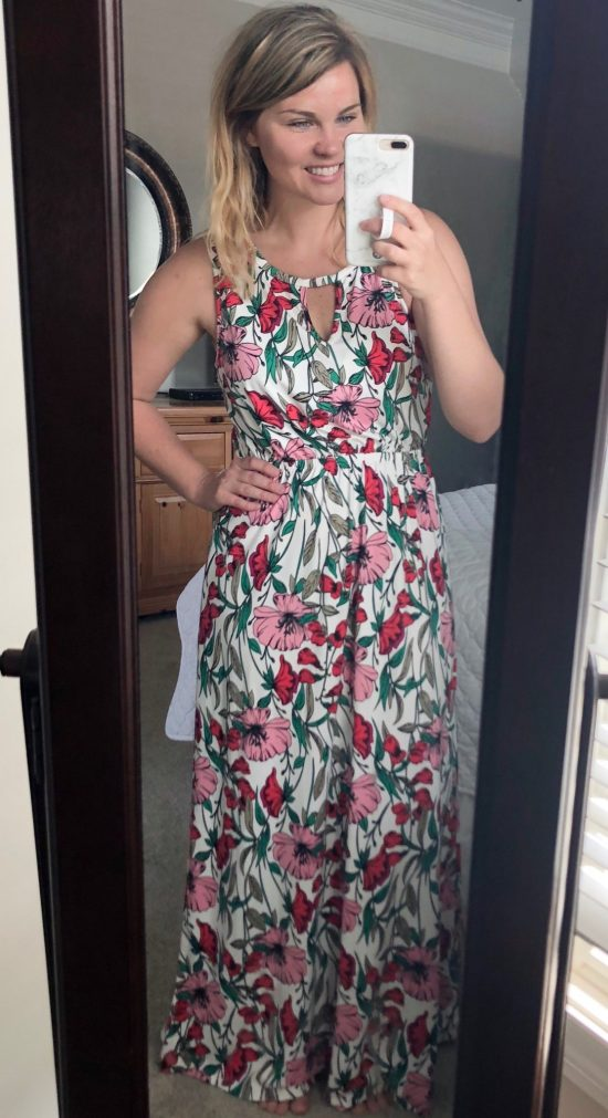 French Grey Liska Brushed Knit Maxi Dress, Stitch Fix