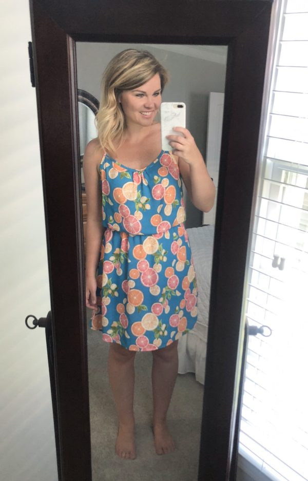 STITCH FIX REVIEW: VERSEAvia Dress | WHIMSICAL SEPTEMBER | Schedule a fix and request this top here!