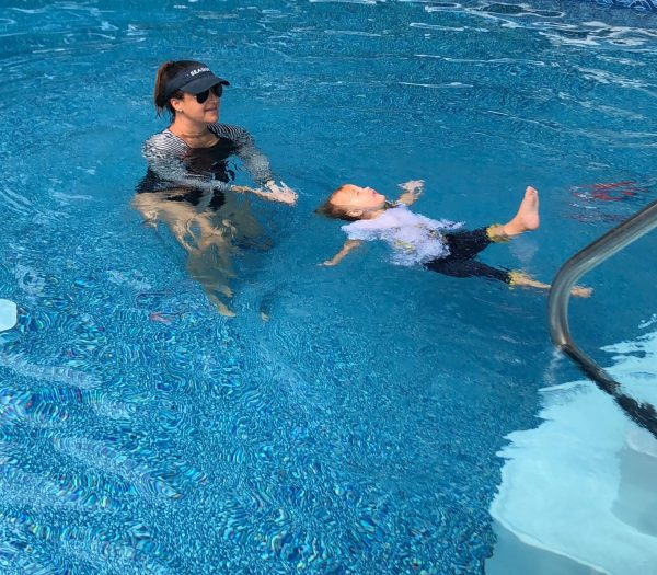 ISR Swim Lessons: After our daughter nearly drowned in a backyard pool in 2016, we were anxious for both of our daughters to learn to swim on their own without a flotation device. Drowning is silent, and this program teaches babies and kids to find their way to their backs and kick and swim until help arrives or until they reach a wall. This water survival skill is life saving and crucial. Click here to read more about our experience.