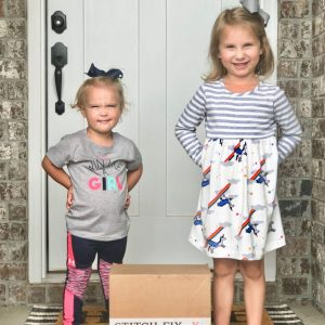 Stitch Fix Kids Review: Hadley and Sadie's First Boxes