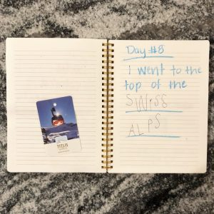 Creating a Children's Travel Journal and Keepsake