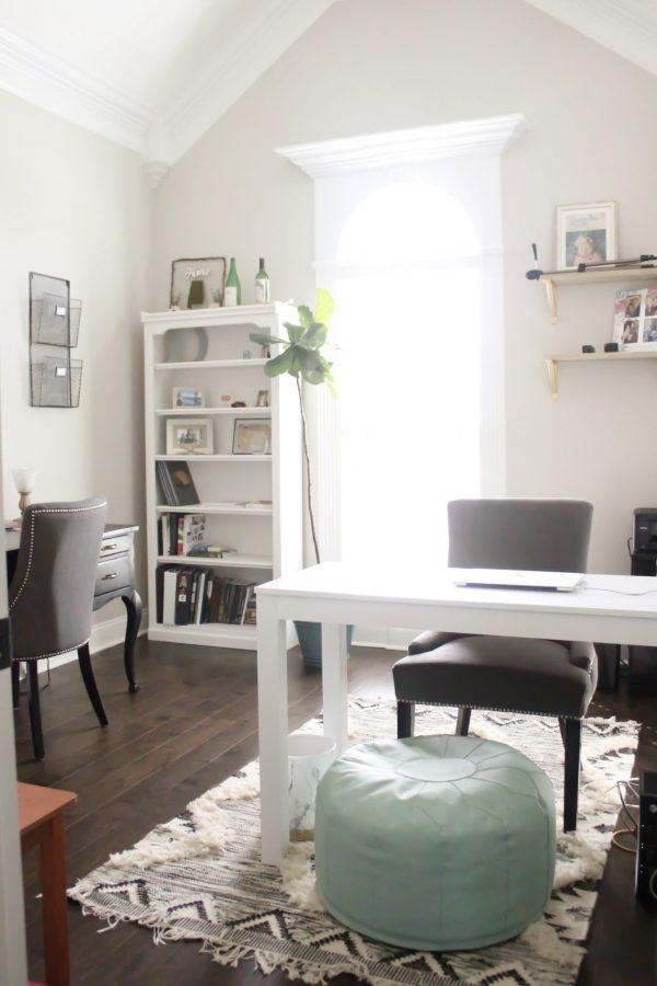Our Shared Home Office | WhimsicalSeptember.com