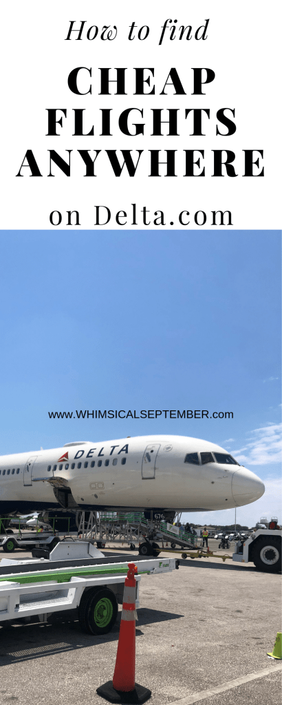 How to find cheap flights on Delta: This post will talk you step-by-step through their website to a hidden search option where you can easily and quickly enter in dozens of locations to see cheap flight options. Click this post to read more and book your next dream vacation!