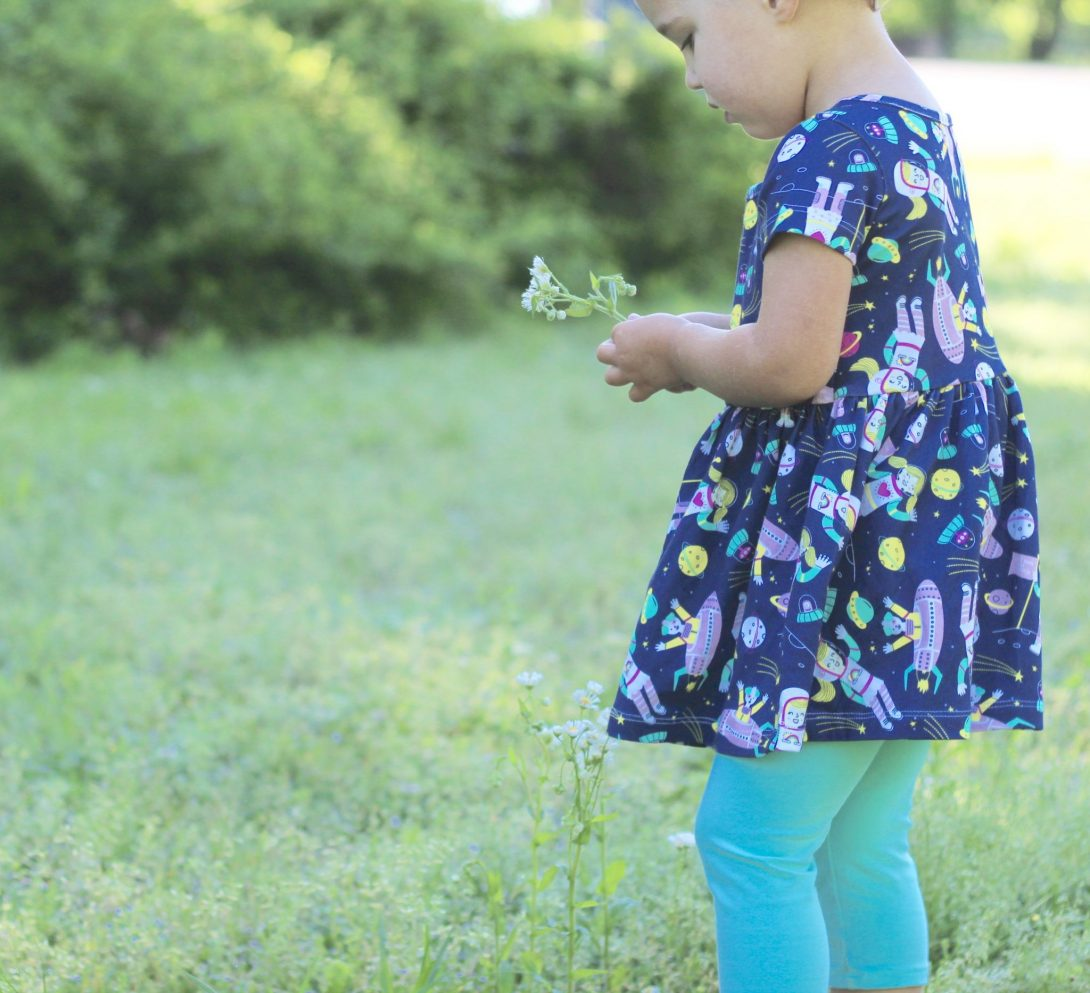 STEM-Inspired Dresses for Girls: Annie the Brave is Here!