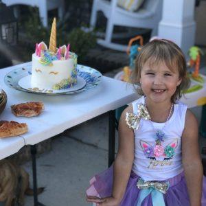 Sadie's 4th Birthday and Parade